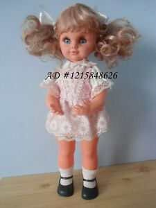"Vintage Girl Doll 18"" Musical Baby Rock A Bye 1976 Hong Kong Kitchener / Waterloo Kitchener Area image 2"