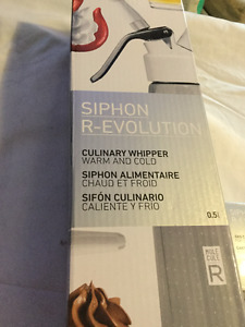 Siphon R-Evolution - Brand New - Never Used