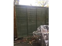 Brand new garden fence 6 by 5