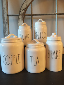RAE DUNN - LL &Type Font Canisters, Pasta Bowls, Pot and more!