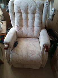 Duel motor electric reclining chair
