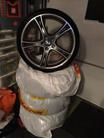 Mags ans tires for bmw