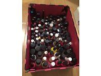 Large bundle job lot of nail polishes opi Sally Hansen Rimmel Avon