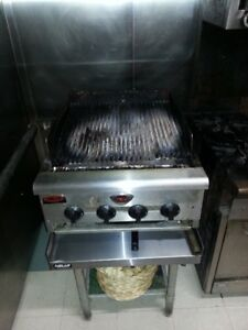 4 burner commercial grill for sale.