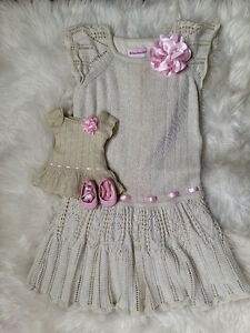 American Girl - Girls dress with matching doll dress