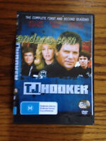 TJ Hooker The Complete First & Second Season DVD