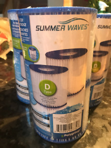 "New Pool Filters Type ""D"""