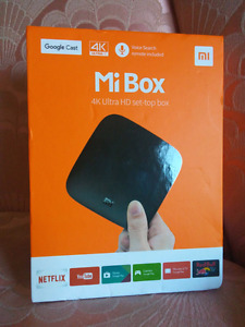 NEW Xiaomi Mi Box 4K HDR Android TV with Kodi