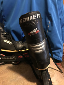 BAUER ROLLER BLADES $84.99 OR OPEN TO OFFERS