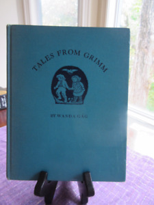 Vintage- Tales From Grimm Illustrated by Wanda Gag 1936