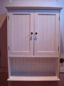 Armoire de salle de bain blanche