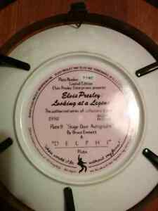 Elvis Presley - Looking At A Legend Collector Plates Kitchener / Waterloo Kitchener Area image 8