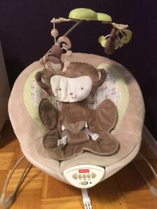 Fisher-Price Deluxe Bouncer My Little Snuga Monkey