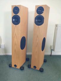 Audio physics tempo 25 speakers pmc 24 beaters
