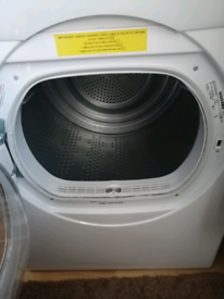 For sale a white tumble dryer hover make I have not use it very much