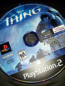 The thing ps2 seulement le cd