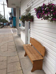 Renting outdoor commercial space in Grand Bend