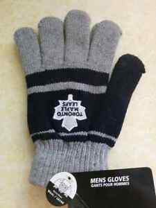 Toronto Maple Leafs wool gloves