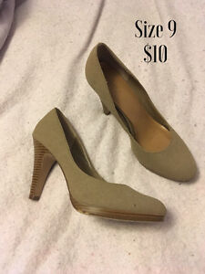Ladies dress shoes and boots