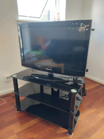32 Inch Samsung TV with TV stand