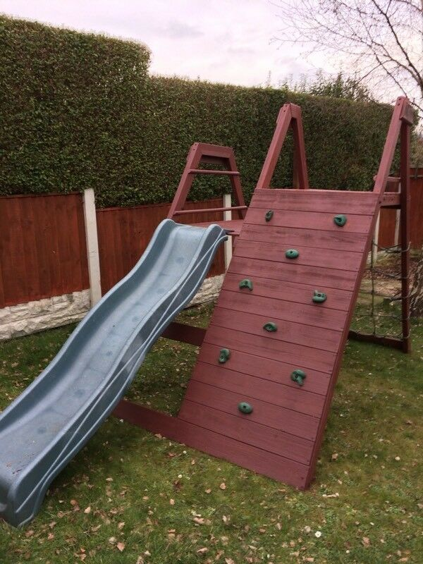 Plum kids climbing frame & slide | in Chesterfield, Derbyshire | Gumtree