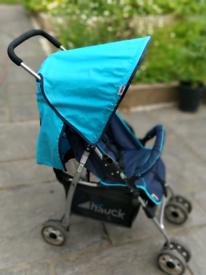 Lightweight Blue Hauck Pushchair