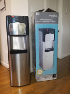 Whirpool stainless steel self cleaning water cooler