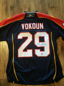 Signed Thomas Vokoun jersey