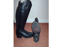 Riding boots size