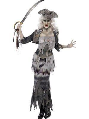erschiff Damen Ghost Ship Kostüm Halloween (Weibliche Piraten Kostüme)