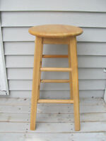 2 bar stools 24 inches high $8 each