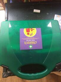 Children first aid kit