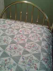***Beautiful Classic Brass Bed Frame-Queen Size*** Cambridge Kitchener Area image 5