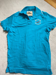 Light Blue Hollister Polo Shirt