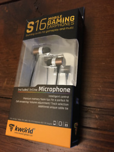 Kworld S16 Mobile Gaming Earphones