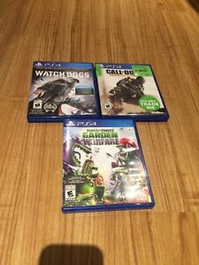 PS4 Game Bundle Only $25! London Ontario image 1