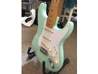 Classic Series 50s Fender Stratocaster in Turf Green - electric guitar