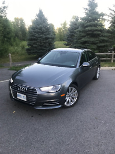 Lease takeover - 2017 Audi A4 Komfort Quattro - 545$/mo