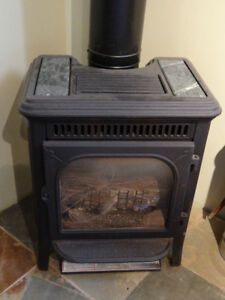 Gas wood stove for sale