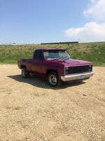 86 square body shortbox 2wd