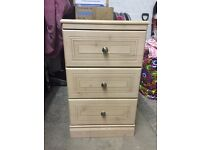 Immaculate drawers and wardrobes