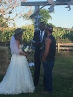 Let me officiate your Fall or Winter Wedding