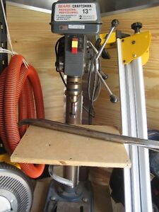 Drill press Craftsman moving June 4th must sell