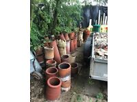 Job lot of chimney pots