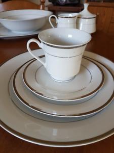 12 place dinnerware set