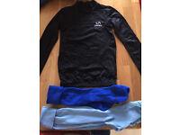 Boys underarmour football top & socks