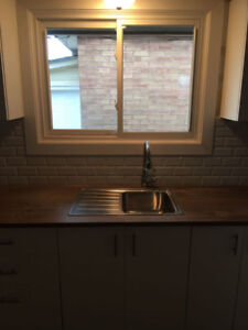 Renovated main floor for rent at prime location in hamilton