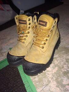 steal toe boots GREAT CONDITION