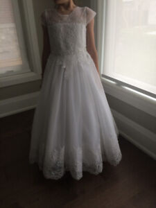 First Communion Dress by Joan Calabrese for Mon Cheri Bridals