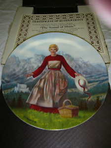 The Sound of Music - collector plate